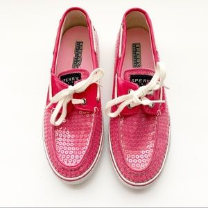 Sperry Top Sider Biscayne Sequined Boat Shoe